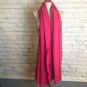 NEW Pink XL scarf and wrap